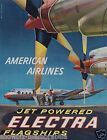 American Airlines vintage retro print poster, large 4 sizes available, Airline16
