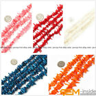"""8-12mm Stick Coral Jewelry Making Loose gemstone beads strand 15"""" 10 Strands"""