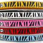 "5 metres mixed colorful zebra grosgrain ribbon craft lot craft 3/8""(9mm) U pick"