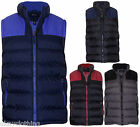 Mens Padded Quilted Gilet Body Warmer Sleeveless Jacket