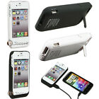 3000mAh External Backup Case Cover Charger Battery W/ Stand For iPhone 4G 4S US