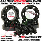 """4 TOYOTA WHEEL SPACERS 