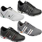 MENS RUNNING TRAINERS CASUAL WALKING SPORTS GYM LACE UP BLACK PUMPS SHOES SIZE