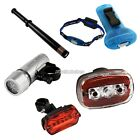 Super Bright Cycling Bicycle Lamp for Bike Helmet Arm Safety Rear light 4 Types