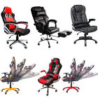 NEW DESIGNER Luxury Computer Desk Office Chair Leather Swivel Adjustable SPORTS