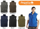 Regatta Mens Full Zip Tobias Fleece Body Warmer - Choose Size & Colour