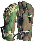 3m Thinsulate Woodland Camo DPM Padded Gloves Outdoor Winter New Unissued