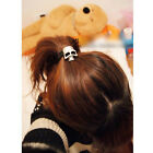 5X Women Girl Fashion Skull Hair Elastics Bands Hair Accessory Ponytail holder