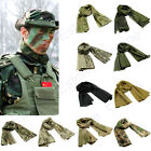 Multi Tactical Camouflage Fish Net Mesh Army Sniper Cover Neckerchief Scarf Veil