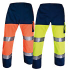 Delta Plus Work Wear Recovery Drivers Trousers Hi Vis Pants High Viz Cargo PHPAN