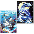 14CT Complete Counted Cross Stitch Kits craft Undersea life Dolphin NEW GIFT