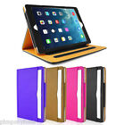 Leather Portfolio Smart Flip Cover for The iPad 4,3,2,AIR,MINI IN BLACK OR PINK