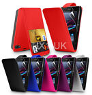 FLIP LEATHER SERIES CASE COVER SONY XPERIA Z1 COMPACT & SCREEN PROTECTOR