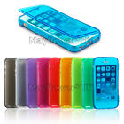 WALLET FLIP TPU SILICONE GEL CASE COVER FOR IPHONE 4 4S 5 5S 6 6 PLUS + SCREEN