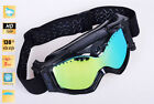 Black Frame Ski Goggles Goggle Different Anti Fog Lens For Motorcycle Snowmobile