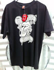 ROLLING STONES OFFICIAL TATTOO YOU (BLACK & WHITE LOGO) MEN'S TSHIRT ($29.99rrp)