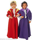 Girls Kids Rich Miss Bronte Victorian School Book Day Fancy Dress Costume Outfit