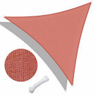 Sun Shade Sail Outdoor Top Canopy Patio UV Block 11.5' 16.5' Triangle 18' Square cheap