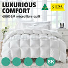Aus Made All Size Season Microfibre Microfiber Polyester Quilt Doona Duvet