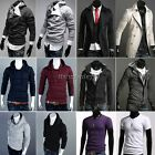 Lot Men's Slim Fitted Hoodies Coat Jacket Sweatshirt Outerwear T-shirt Tops ItS7