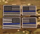 Thin Blue Line Subdued American Flag Patch, Law Enforcement