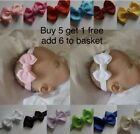 Baby Headband Hairband Soft Elastic baby headbands Bow Hair Accessories  4 sizes