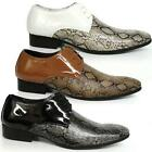 MENS DESIGNER ITALIAN SHOES SMART WEDDING PARTY EVENING FORMAL DRESS SHOES SIZE