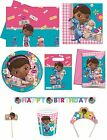 DOC MCSTUFFINS (Disney) PARTY RANGE (Tableware/Balloons)
