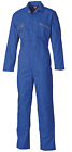 Mens Dickies Redhawk Coverall Overalls Boiler Suit WD4839 - Zip Front