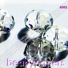 20 - 50 Glass Beads Abacus Suncatchers 12 mm x 8 mm Faceted Clear AB 6065