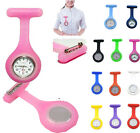Top Design Silicone Nurse Doctor Medical Watch Brooch Tunic Fob Colors