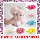Flower Bow Headband Hair Clothing Accessories Girls Baby Infant Toddler Children
