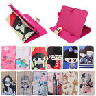 Cartoon PU Leather Stand Folio Case Cover For Tablet PAD 7 8 9 9.7 10