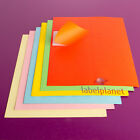 A4 Coloured Self-Adhesive Laser/Inkjet Printer Rectangle Permanent Label Planet®