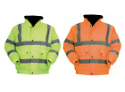 Blackrock Baratec Hi Vis Contractor Bomber Jacket Coat High Viz Visibility