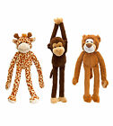 Dangly Wild 40cm soft toys - Lion, Giraffe, Monkey - from Keel Toys