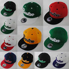 State Property Script Boston Snapback Flat Peak Baseball Hat Cap