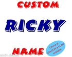 PERSONAL NAME DECAL vinyl letter wall art Cartoon Sticker Custom REMOVABLE