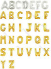 Wedding Party Decoration New Mylar Foil Balloon Large Letter Full Alphabet A - Z