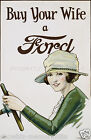 vintage Ford motors ad print poster, large 4 sizes available-Auto 66