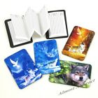 Wolf / Wolves Magnetic Address Book Credit Card Sized ~ New