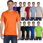 NEW Hanes Mens ComfortSoft Heavyweight 100 Cotton Tagless S 3XL T Shirt 5250T