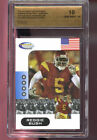 2006 Showcase Prospects Reggie Bush USC Graded ROOKIE Football Card SPA 10