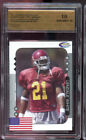 2005 Showcase Prospects Lendale White Graded ROOKIE Football Card SPA 10 2006