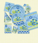 1st BIRTHDAY TURTLE PARTY ITEMS (First/Boy/Blue/Green) Tableware & Decorations