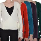 Initial Womens Ladies Button Open V Neck Cardigan Sweater Top
