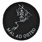 Seal Team SkeleFrog Mal ad Osteo - 3 inch Round Patch