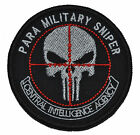 CIA Paramilitary Sniper Punisher Skull - 3 inch Round Patch