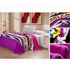 New Arrival Super Soft Blanket Coral Fleece Flannel Fabric Bedding Article ZHW07
