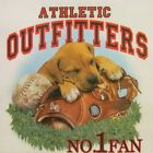 ATHLETICS OUTFITTERS SOFTBALL #1 FAN DOG/BALL/GLOVE #269-L